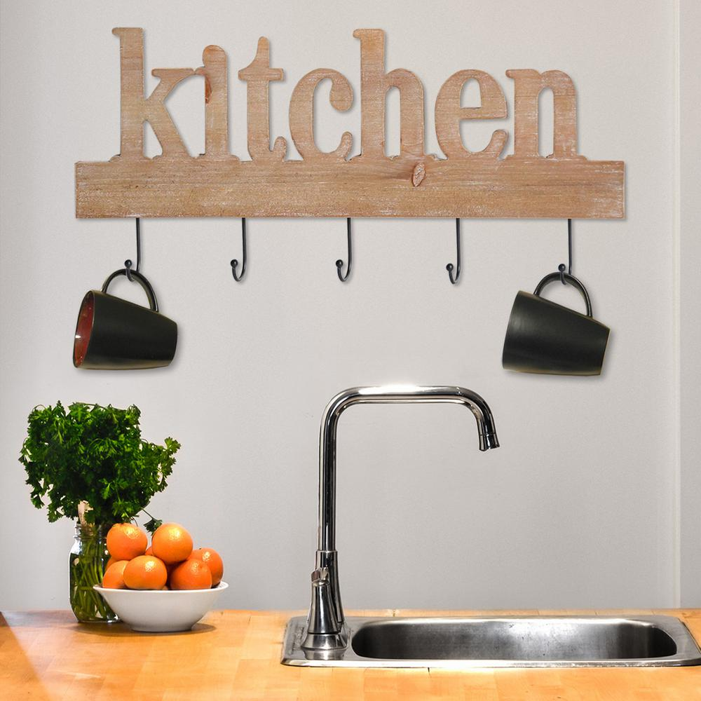 Stratton home decor kitchen typography decorative sign washed wood also rh pinterest