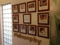 Philosophy statement displayed for families | ECE ...