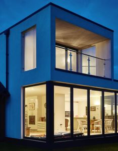 House also boucher road contemporary extension within an area of outstanding rh pinterest