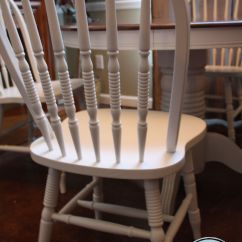 Diy Painted Windsor Chairs Peg Perego High Chair Cover Lumley Belle Designs Refinished Antique Ivory