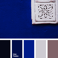 Deep blue is perfect for a living room. Such a rich shade ...