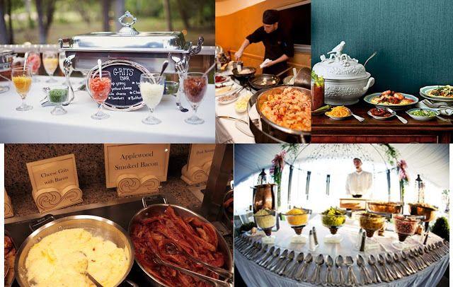 Southern Wedding Reception Food Ideas