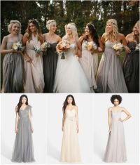 Mismatched Bridesmaid Dress Ideas for Fall Weddings ...