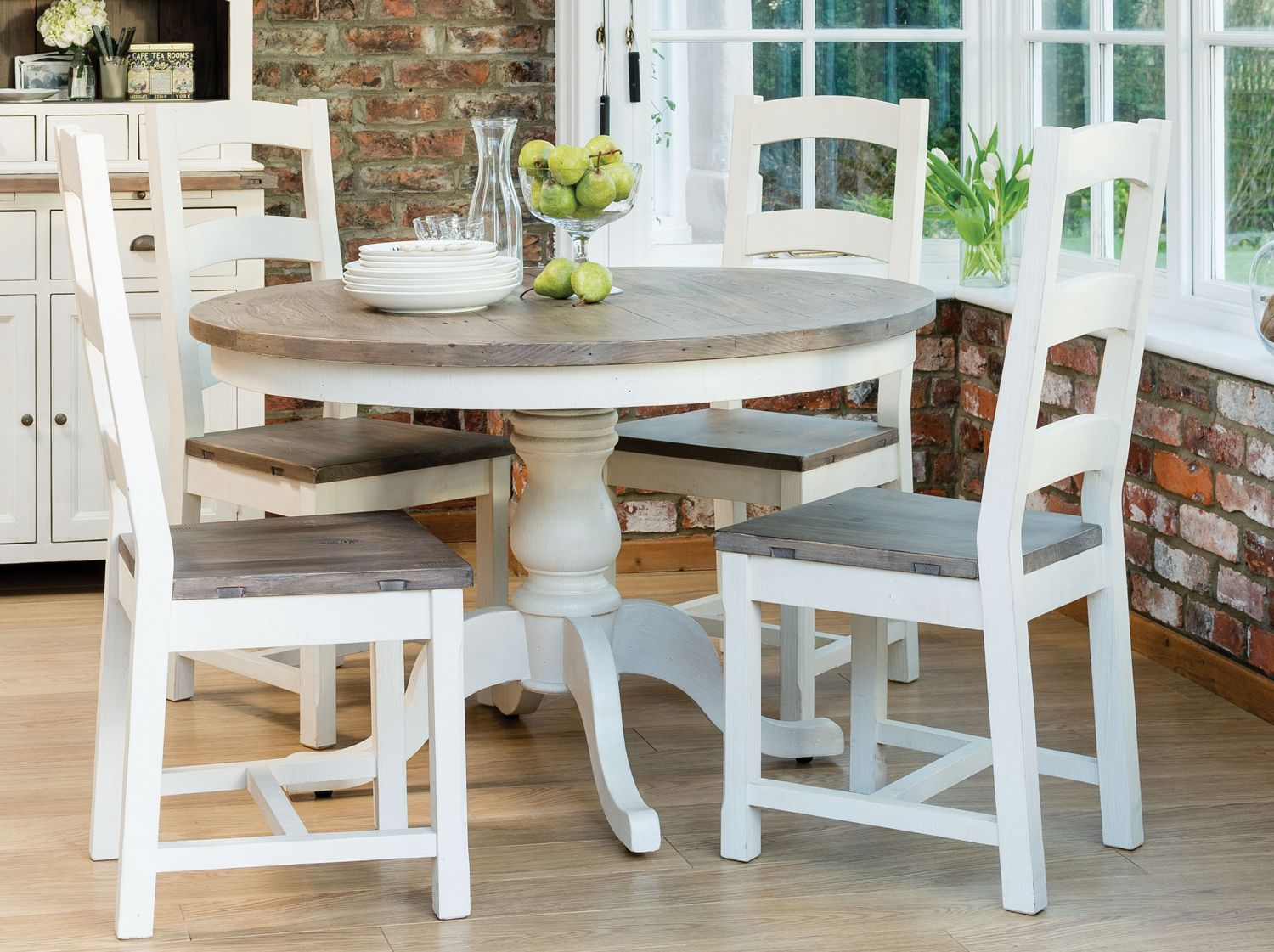 french country round dining table  For the Home
