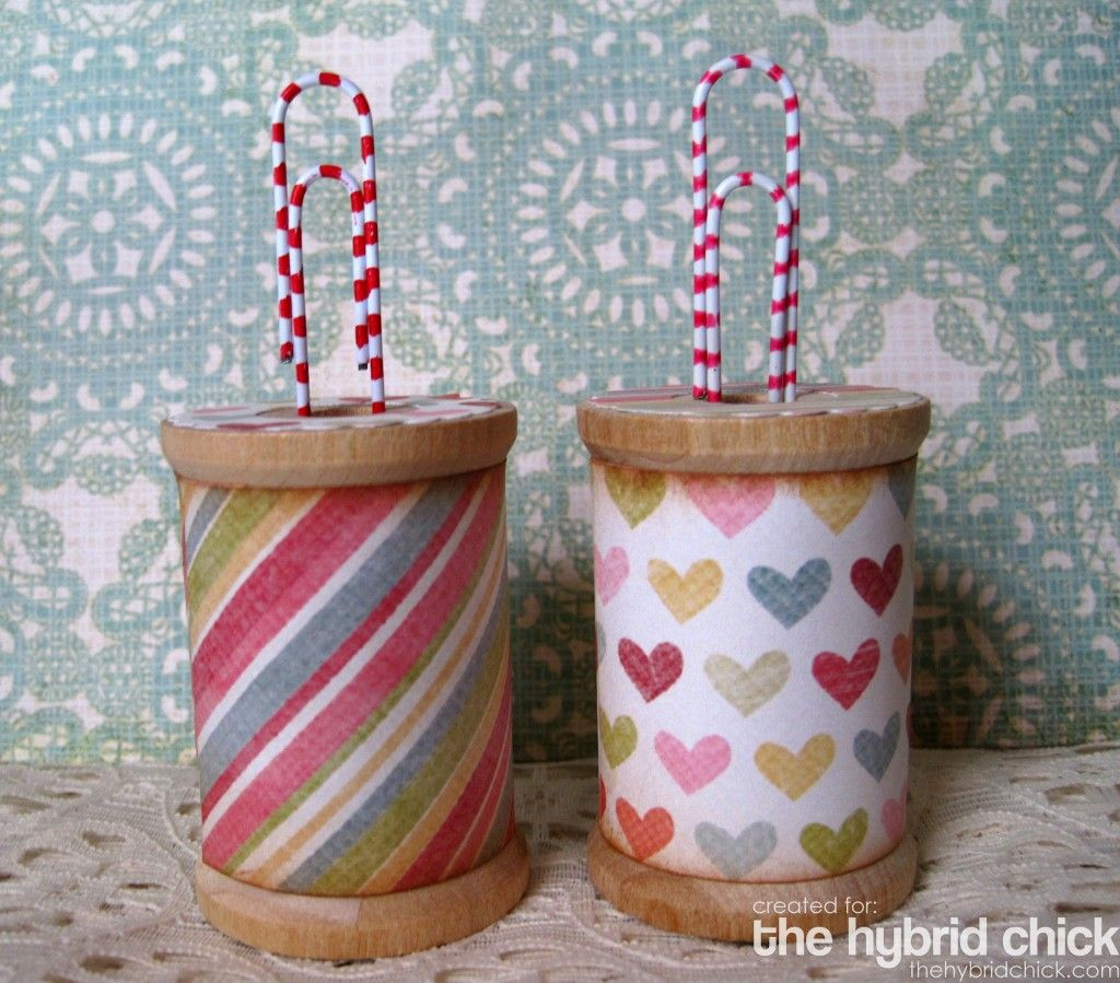Large Wooden Spools Craft Ideas