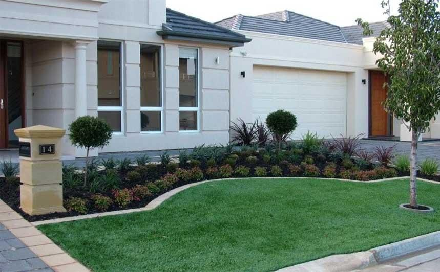Front Yard Gardens Gallery Landscape Inspirations S A Pty