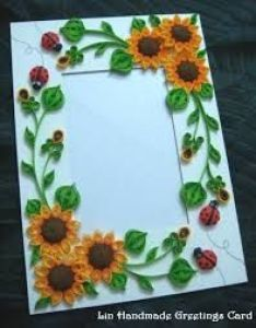 Quilled photo frames google search also papercraft quilling rh pinterest