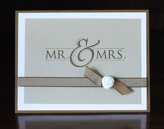 Mr. & Mrs. Versatile Wedding Card
