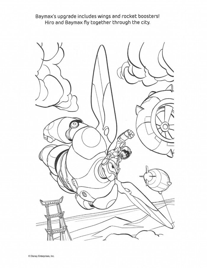 big hero 6 coloring pages and activity sheets – #bighero6