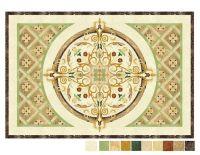 Elegant sauna decoration floor simple mosaic patterns