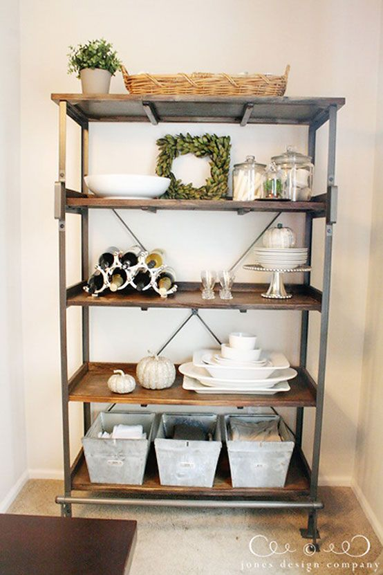 pleasantly surprised a new dining room display shelf