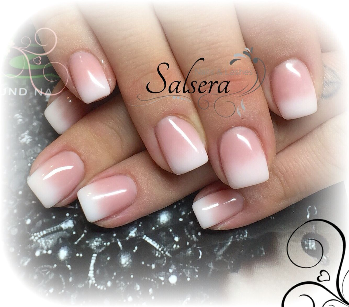 Magnificent French Ombre Gel Nails Illustration - Nail Art Ideas ...