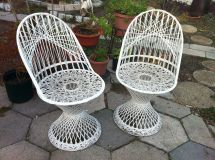 Russell Woodard Spun Fiberglass Patio Furniture
