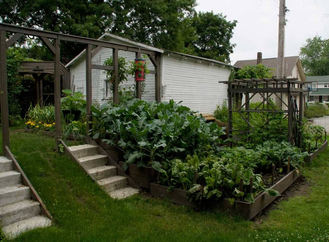Raised Vegetable Garden Design Terraced Garden Ideas With Front