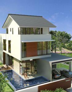 House home design decoration modern bungalow also best designs rh pinterest