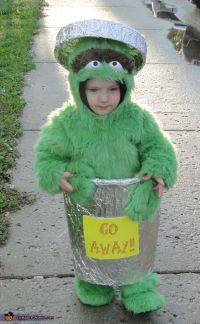 Oscar The Grouch - Halloween Costume Contest at Costume ...