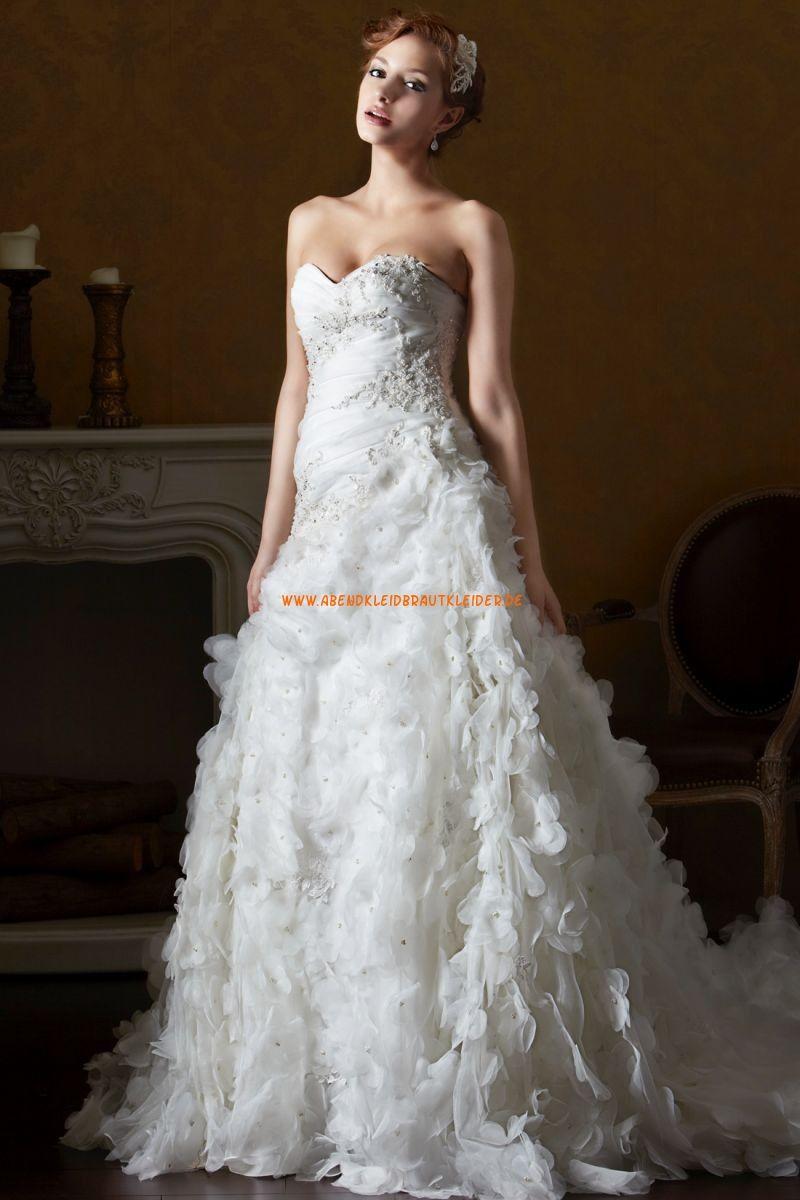 Eden Black Label Romantische Traumhafte Brautkleider Aus Organza