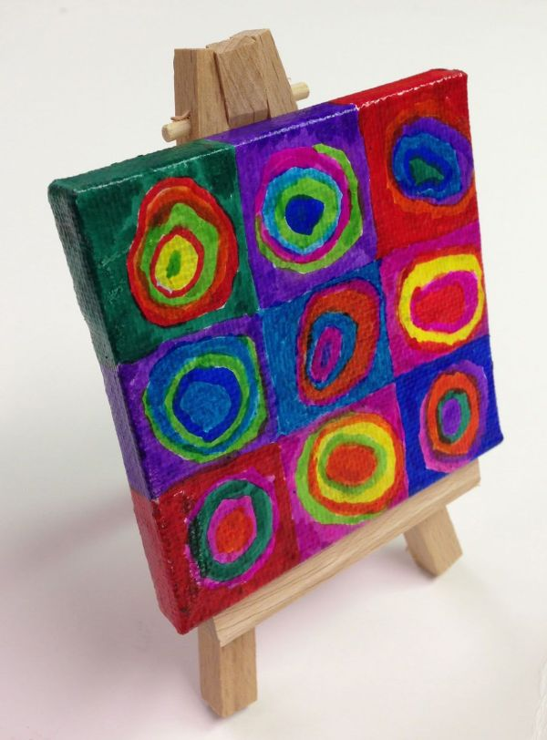 Mini Art Painting Projects
