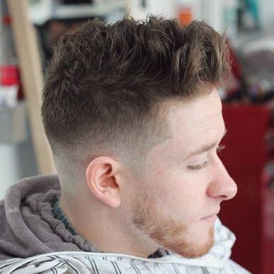 Short Textured Crop Haircut