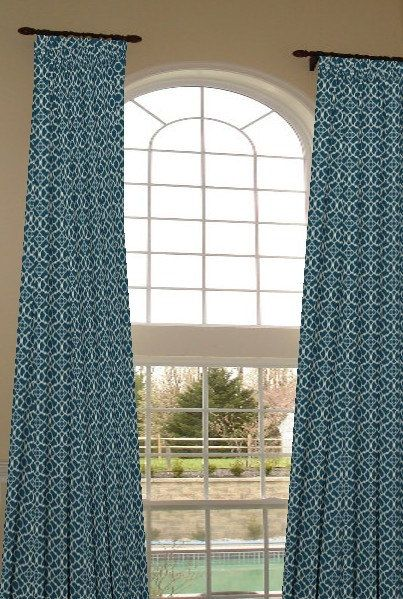 2 Story Extra Long Drapes 204 Inches Long Custom By Draperyloft