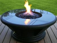 Portable Propane Outdoor Fire Pit | Fire Pits | Pinterest ...