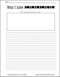 Why I Like Trains Writing Prompt Worksheet Free to Print ...