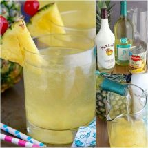 Pineapple Pina Colada Bottle Drink