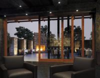 marvin lift & slide patio doors; multiple doors stack to ...