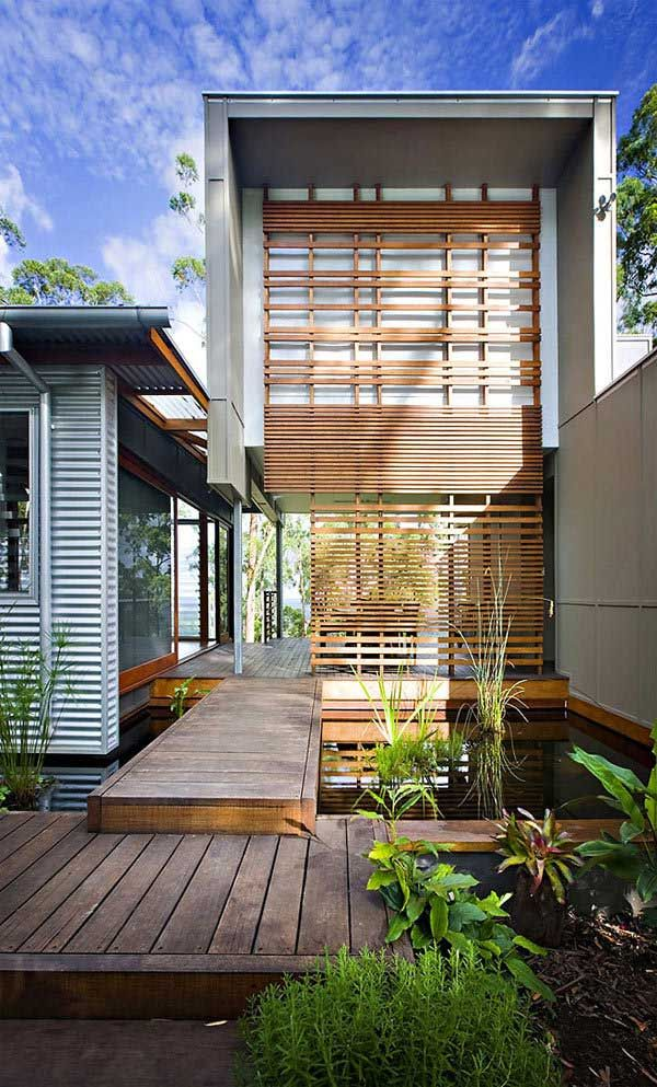 Minimalist Modern Green Hills House Design Ideas Home Design