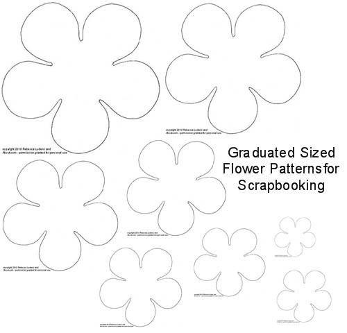 DIY Torn Paper Flower Embellishments for Scrapbooking