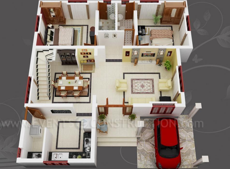 Home Design Plans 3D HD Wallpaper Balloondesigns Net
