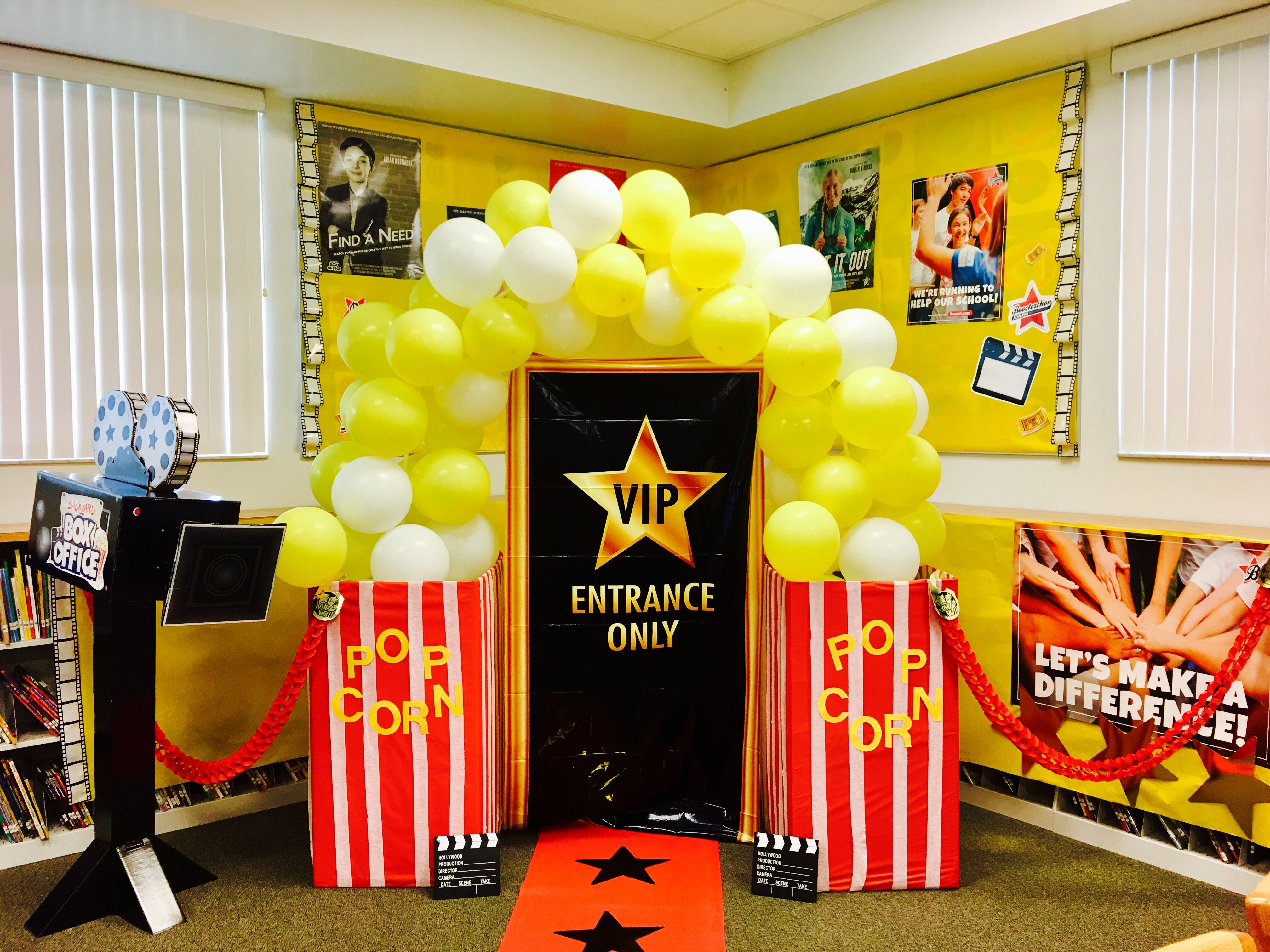 Hollywood Door Decoration & Grammies/Music Themed