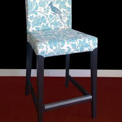 Ikea Usa Chair Covers Outdoor Wooden Henriksdal Bar Stool Cover Barber By Rockincushions