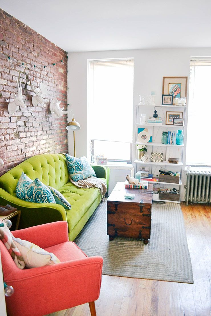 Apartment ideas also take an inside tour of  small yet homey nyc vintage rh pinterest