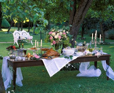 Garden Party Party Ideas! Pinterest Gardens Backyards And Feast