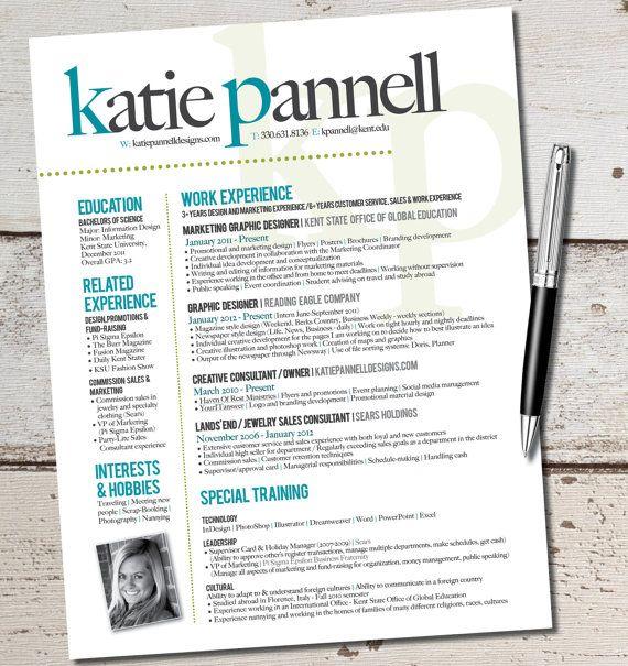 Marketing Resume on Pinterest  Resume Template Free Resume Templates and Resume