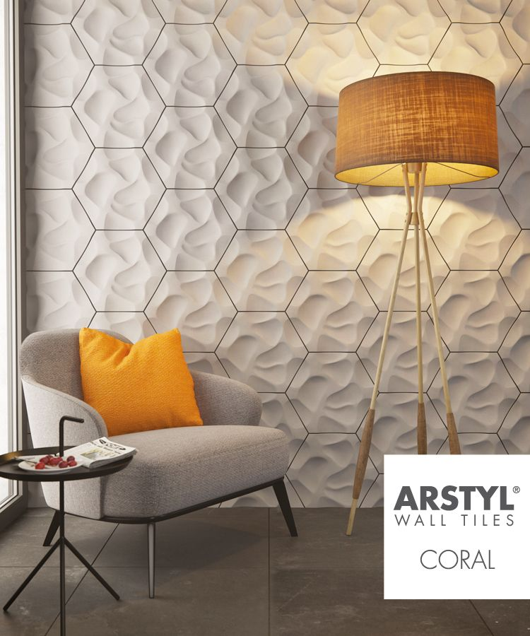 The three dimensional decorative wall elements made of polyurethane were created by mac stopa founder leading architect and designer massive design also arstyl tiles coral designed wallpapers murals rh pinterest