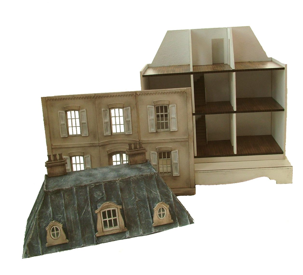 1 48th Quarter Scale 'Le Petit Palais' Dolls House Kit By