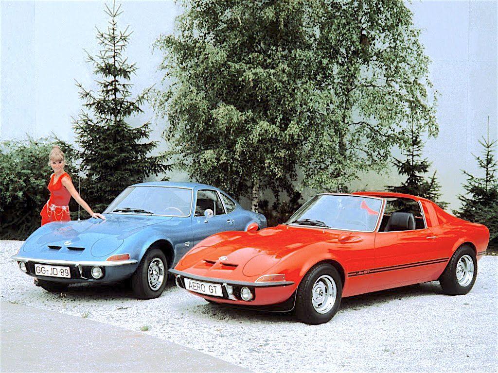 1969 Opel Gt & Opel Aero Gt Concept Car  Concept Cars