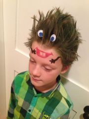 crazy hair ideas kids growing