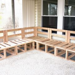 Diy Patio Sofa Plans Replacement Cushions Outdoor Sectional Framing Project Deck Tutorials