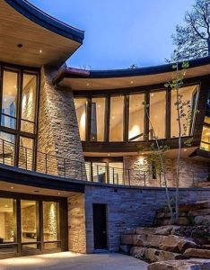 Comment if you love the unique curves and twist with this house also rh pinterest