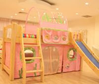 Bunk bed or loft bed curtain and canopy | Ibenma children ...