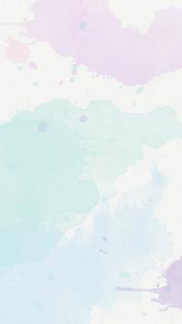 Lavender mint Pastel watercolour texture phone background