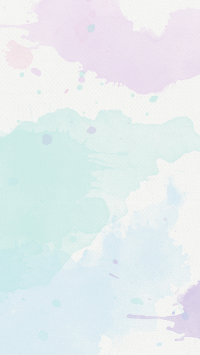 Lavender mint Pastel watercolour texture phone background ...