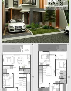 Denah  umah idaman lantai also revestimiento fachada madera amigos pinterest architecture rh