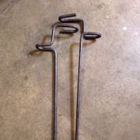 "Bank fishing rod holders 1/2"" steel | Fishing rod holders ..."