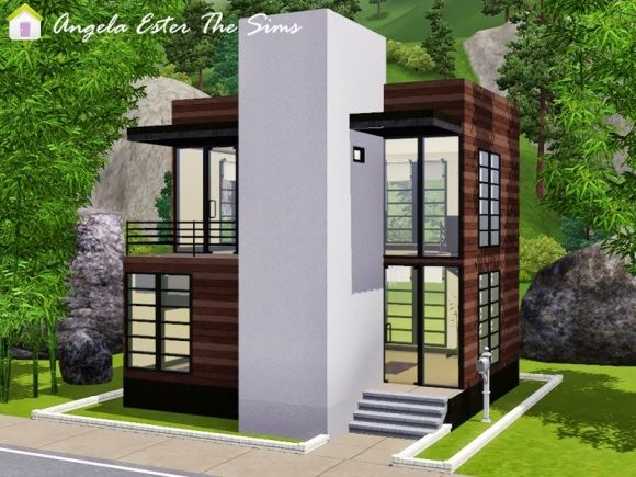 Minicasa 23 – House At Angela Ester The Sims Sims 3 Finds
