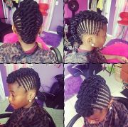 braided mohawk mini manes