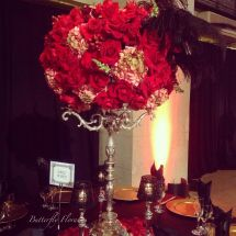 Hollywood Themed Centerpiece Centerpieces